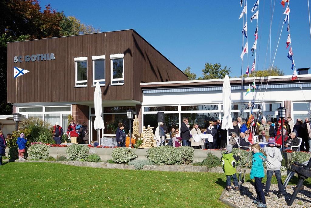 SC Gothia e.V. - Clubhaus - Terrasse - Absegeln 2015 - Photo © SailingAnarchy.de