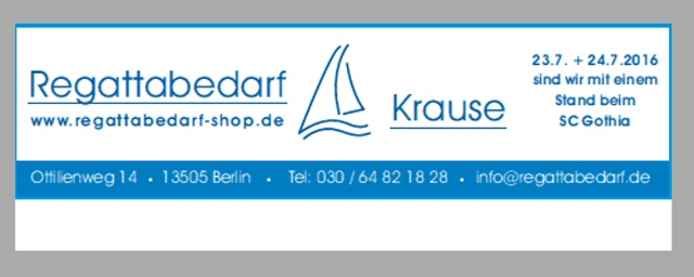 Regattabedarf Krause: Seit über 25 Jahren der Spezialist für Funktionsbekleidung, Zubehör und Ersatzteile