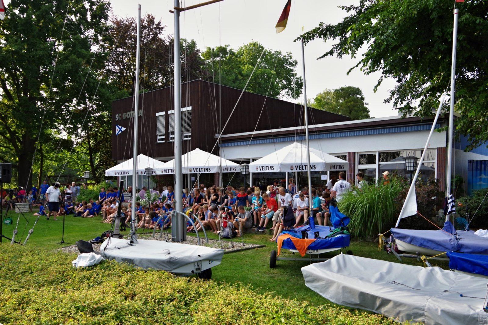 IDJüM 2016 im Teeny im Segler-Club Gothia e.V. in Berlin, 24.07.2016 - Eröffnung der Meisterschaft - Photo © SailingAnarchy.de