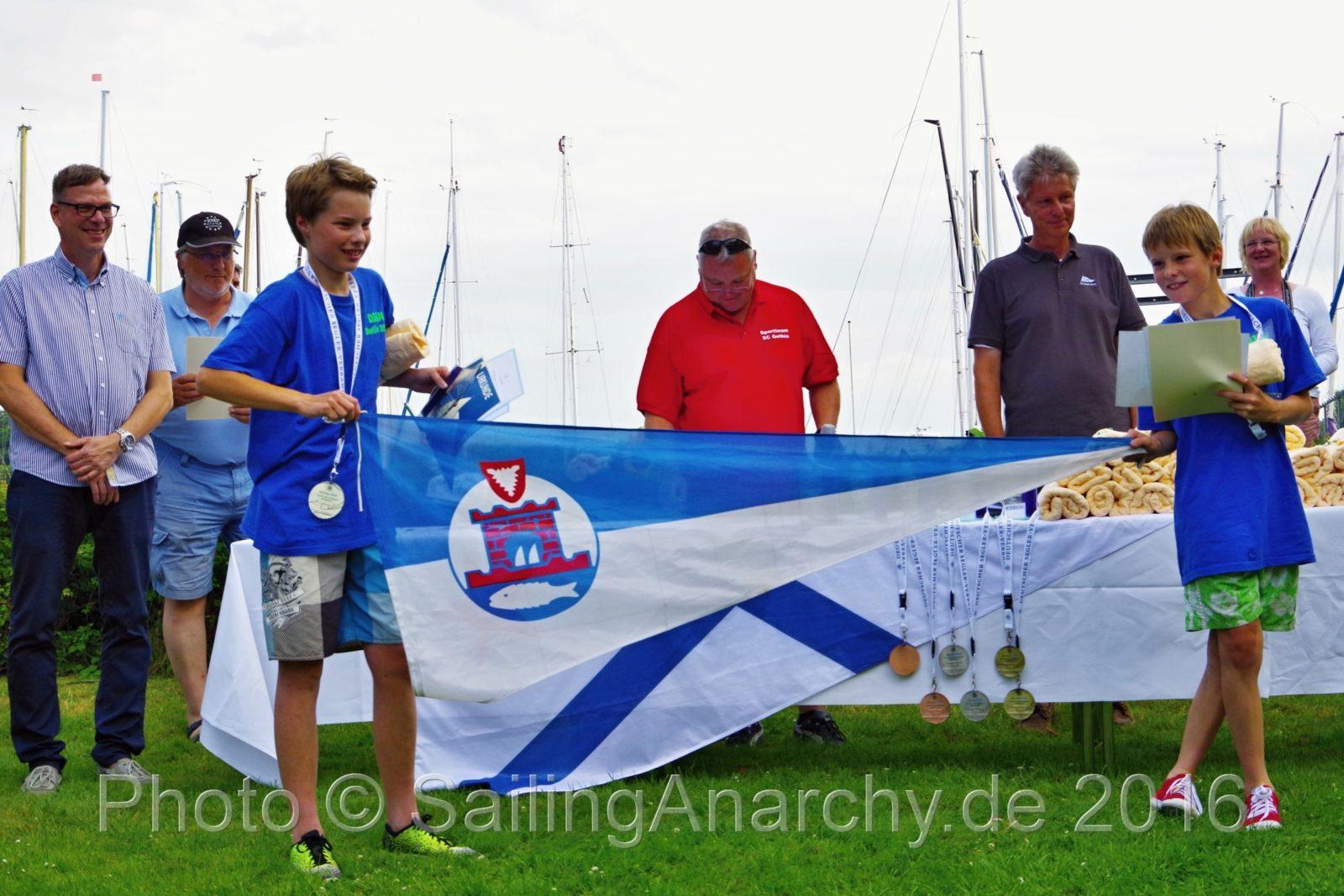 GER 718, Nik und Oke Mommensen – 1. Platz U14 Wertung - IDJüM 2016 im Teeny im SC Gothia e.V. in Berlin Spandau, 29. Juli 2016
